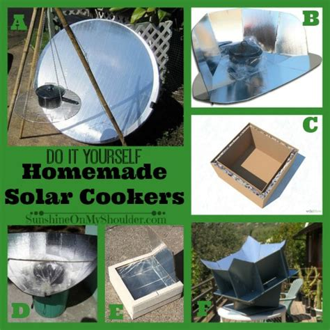 diy solar home diy solar cookers