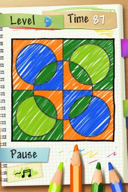 Doodle Fill 同じ色が隣り合わないように色をぬるゲーム 頭の体操にもってこいですね Appbank