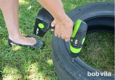 how to make a tire swing diy tire swing diy kids bob vila