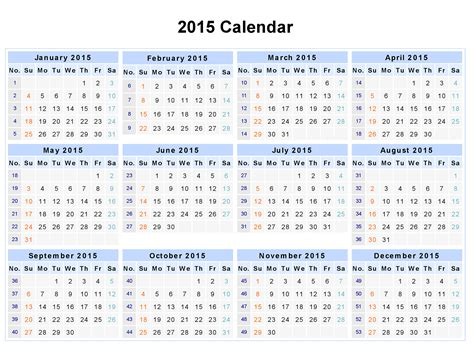 best photos of 12 month calendar template 2015 2015