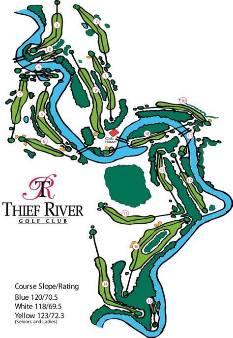 newspaper club layout course layout thief river golf club