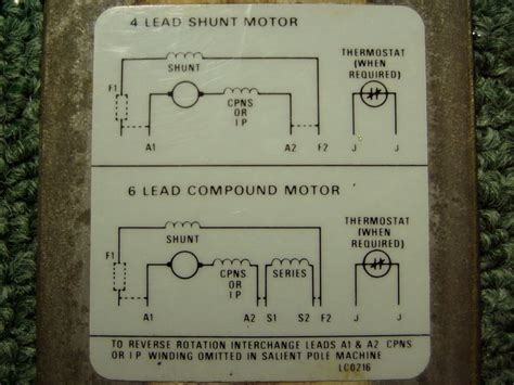 connection of dc motor help with dc motor wiring