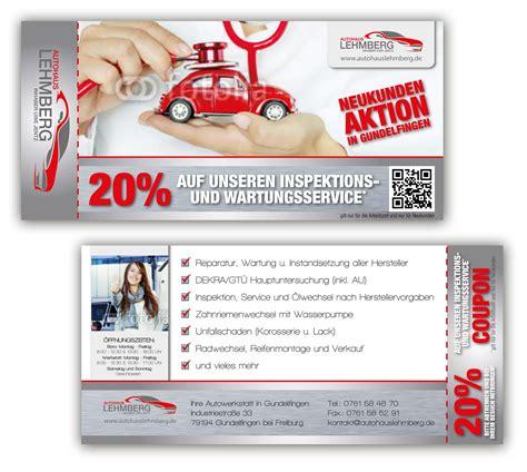werkstatt werbung autowerkstatt sucht neuen flyer f 252 r aktionen 187 flyer