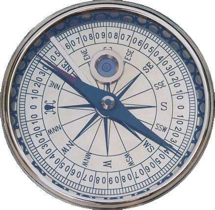 Kompas Magnet Navigasi Compass Survival Navigation the compass