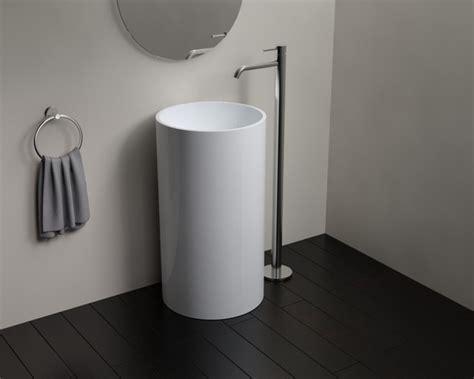 bathroom freestanding sinks badeloft sinks freestanding stone resin modern bathroom san francisco by