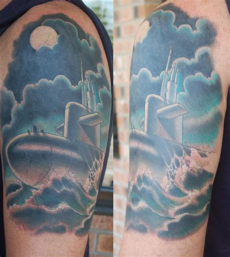 submarine by chris krapohl tattoos