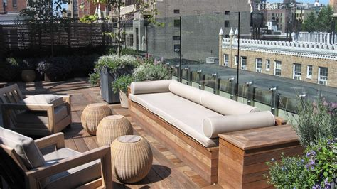 rooftop patio ideas new york decks al terry design custom roof decks and