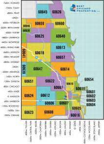 Zip Code Chicago Map With Zip Codes