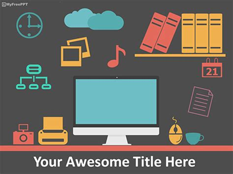 office template powerpoint free coffee powerpoint templates myfreeppt