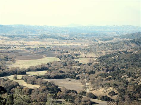 San Luis Obispo County Records Photo View Northwest From Vicinity Of Rinconada Mine
