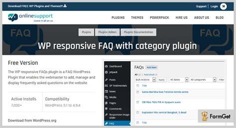 wordpress widget gridlayout 7 best faq wordpress plugins 2018 free and paid formget