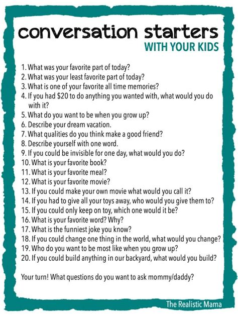 conversation themes in english best 10 conversation starters for kids ideas on pinterest