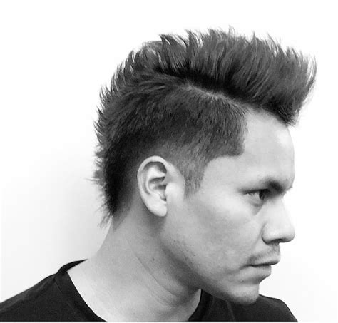 Mohican Hairstyle by Mohawk Fade Haircuts