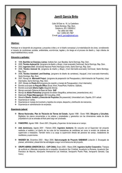Modelo Curriculum Vitae Ejecutivo Un Formato De Curriculum Vitae Newhairstylesformen2014