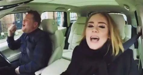 james corden and adele relationship watch adele and james cordon doing carpool karaoke in