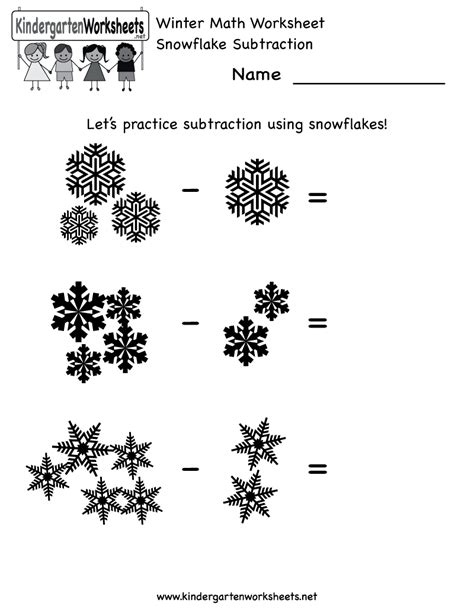 kindergarten activities winter kindergarten math worksheets winter math worksheet