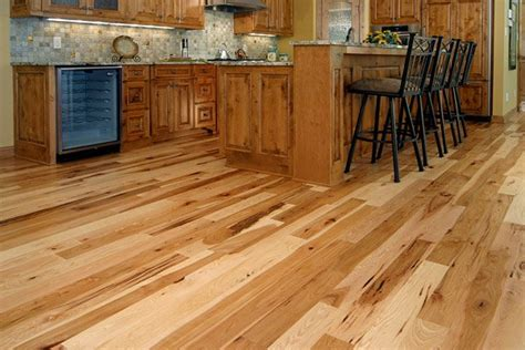 natural hickory floor kitchen hickory floor pictures and ideas