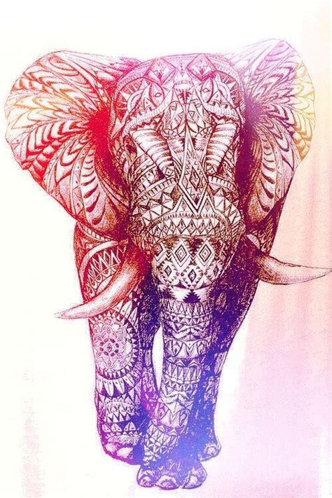 elephant tattoo with background pinterest the world s catalog of ideas