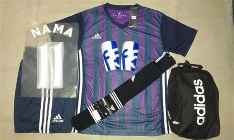 Setelan Baju Bola Anak Bayi Inter Milan Home 2017 2018 setelan baju futsal bola adidas printing ad13 motif milan hitam ungu rumah jersey