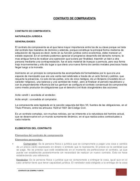 contrato de compra venta de vehiculo para imprimir contrato de compraventa