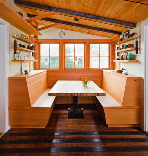 Building A Dining Room Booth Booth Or Table How Do You Dine At Home