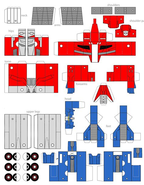 Papercraft Transformers Optimus Prime - papercraft foc optimus prime by minibot gears on deviantart