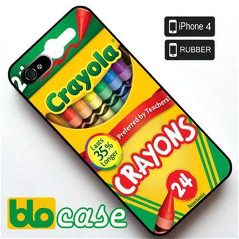 Crayola Crayons Iphone All Hp crayola crayons box iphone 4 rubber from blocase