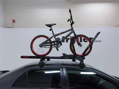 Yakima Bike Rack Reviews by Yakima Highroller Roof Bike Rack Wheel Mount Aluminum