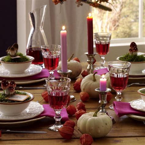 table decoration 30 festive fall table decor ideas