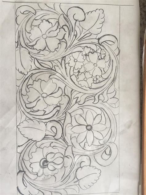 drawing pattern on leather 914 best leather tooling patterns images on pinterest