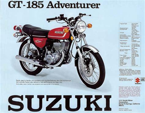 suzuki  retrovintageclassic moto advertising