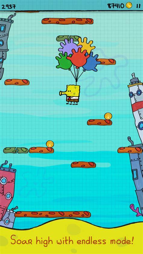 doodle jump to play play doodle jump spongebob squarepants