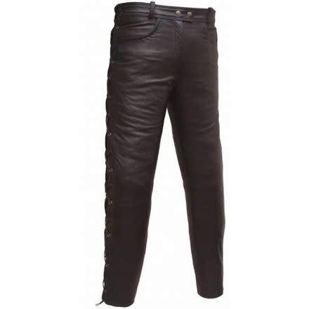 pantalon de cuero moto pantal 243 n de cuero custom goyamoto gm 158 en oferta