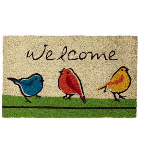 Bird Doormat by Birds Welcome Coir Doormat In Doormats