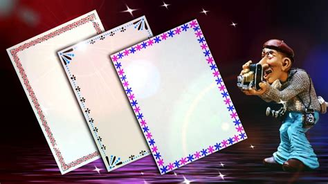 Beautiful Project how to decorate borders of project files 3