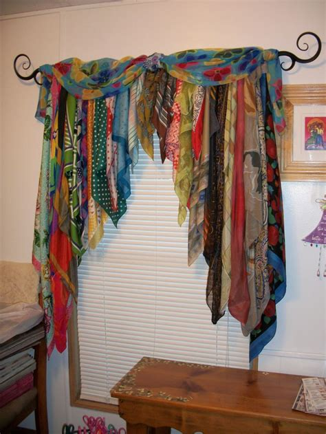 how to drape a scarf valance best 20 scarf curtains ideas on pinterest curtain scarf