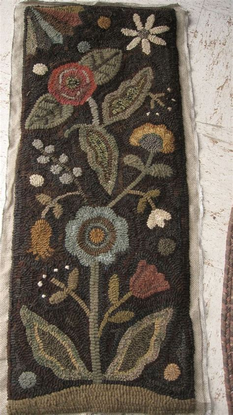 needle punch rugs 573 best hooked rugs punch needle images on rugs rug hooking patterns and