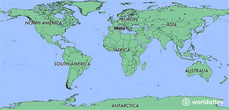 where is albania on the map where is albania where is albania located in the world