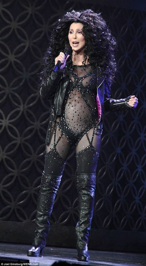 Cher Wardrobe cher stuns fans with daring during live show
