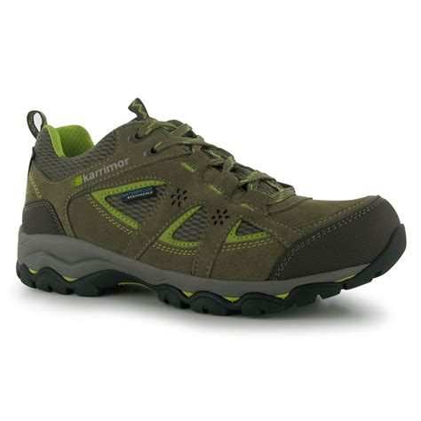 karrimor womens mount low walking shoes waterproof