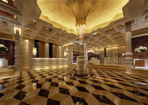 Toscano Home Decor by Luxury Hotel Lobby Floor And Ceiling Design Ideas