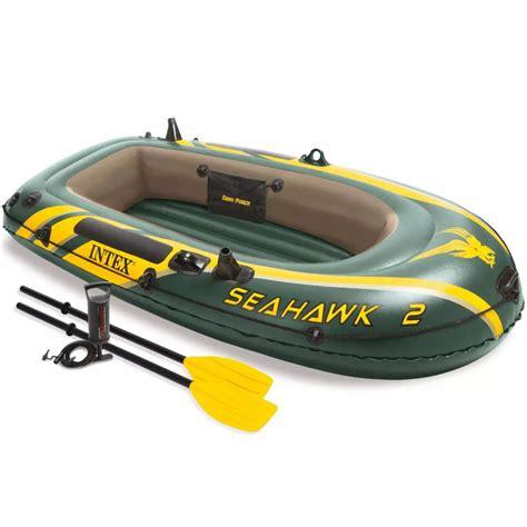 opblaasboot pomp intex seahawk 2 opblaasboot met peddels en pomp 68347np