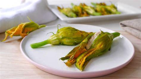ricetta con fiori di zucca ripieni fiori di zucca ripieni ricette bimby