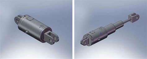 bureau d 騁udes hydraulique acting hydraulic cylinder drawing
