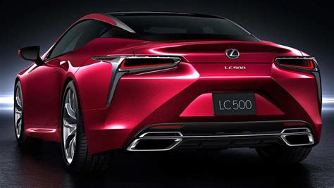 lexus lc detailed car news carsguide