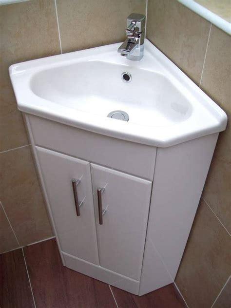 Corner vanity unit basin cloakroom luton