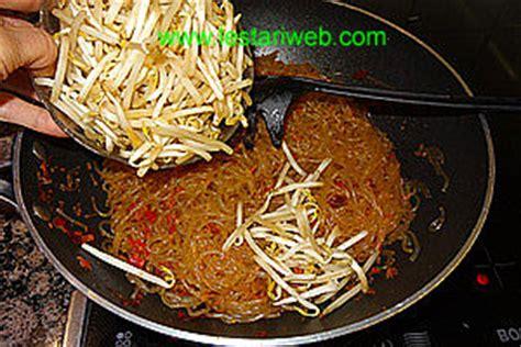 fried sago noodles mie sagu goreng