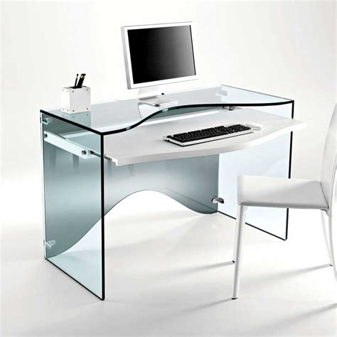 Glass Desk For Office Glass Office Desk For Gorgeous And Modern Office Office Architect