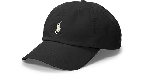 Polo Cap White lyst polo ralph polo script chino baseball cap in
