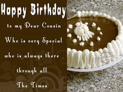 happy birthday to a special cousin wishbirthday com
